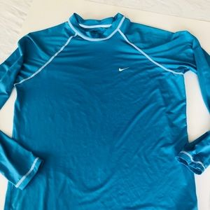 Men's Nike Rash Guard - Swim- Training Shirt
